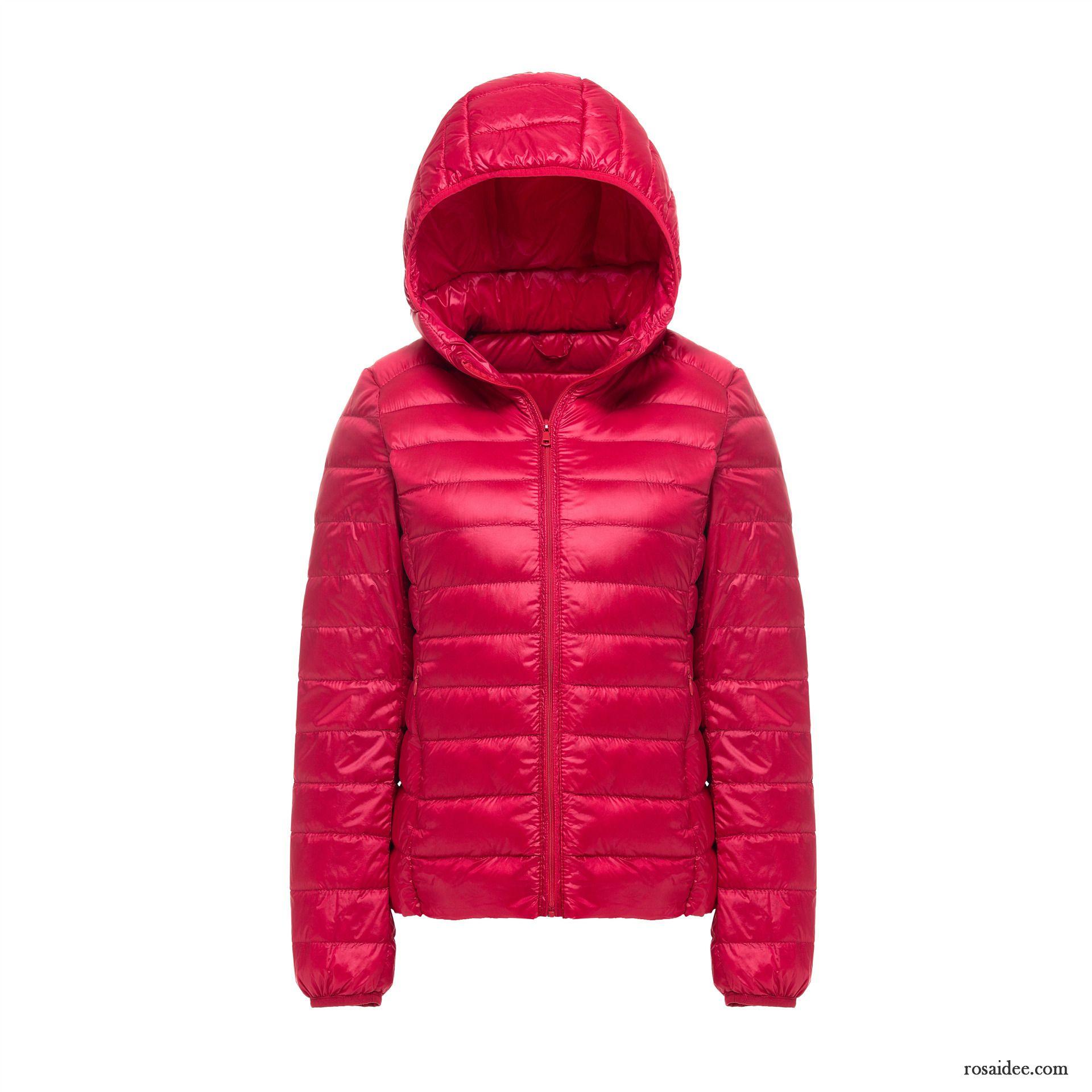 reputable site 1b39c e4c31 Damen Daunenjacke Pink Rein Winterkleidung Überzieher ...