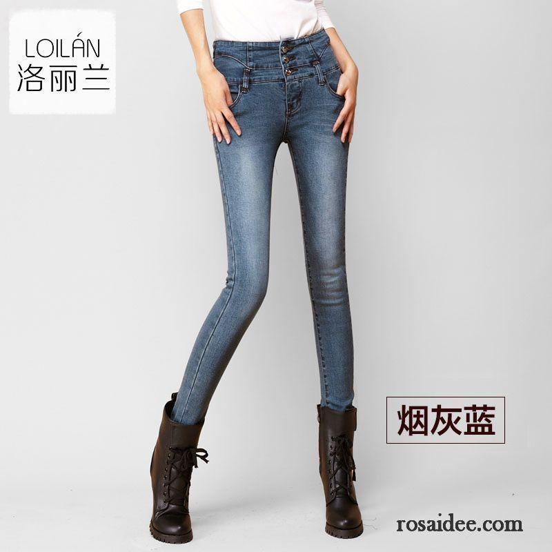 low waist jeans damen herbst neu damen schmales bein jeans. Black Bedroom Furniture Sets. Home Design Ideas