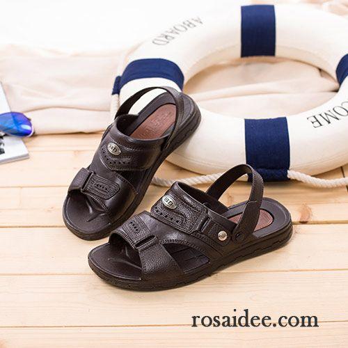 3ea3cfe006bb65 Männer Schuhe Online Sandalen Trend Rutschsicher Hausschuhe Neue Casual  Strand Herren Sommer Günstig