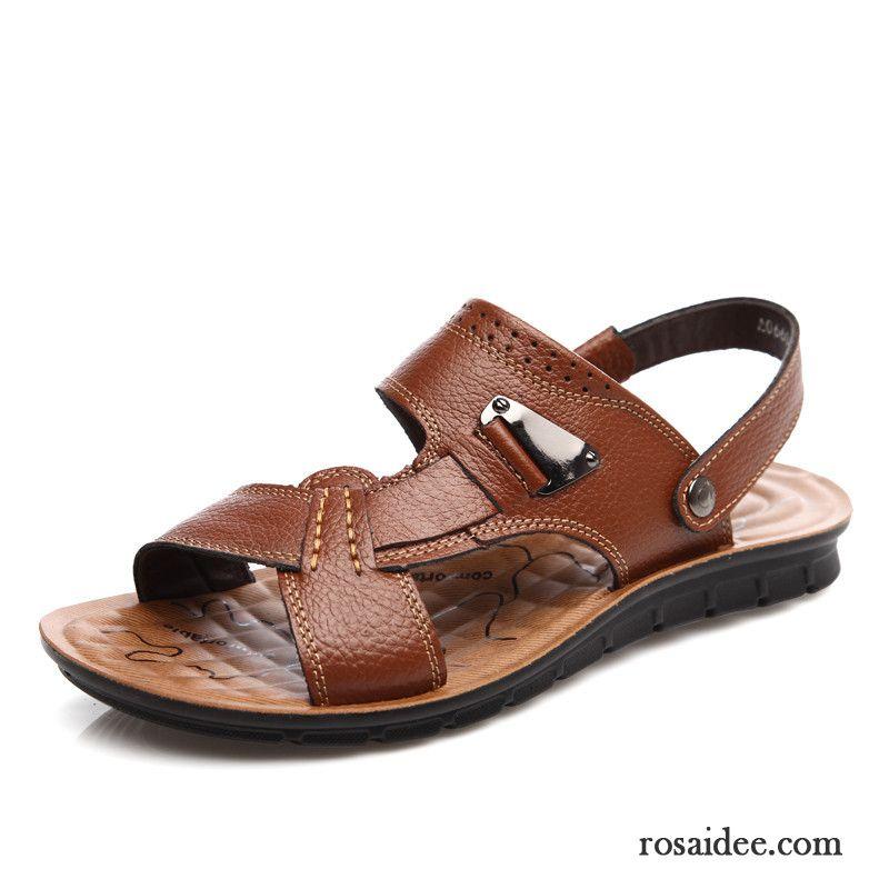 offene schuhe herren sommer sandalen echtleder strand. Black Bedroom Furniture Sets. Home Design Ideas