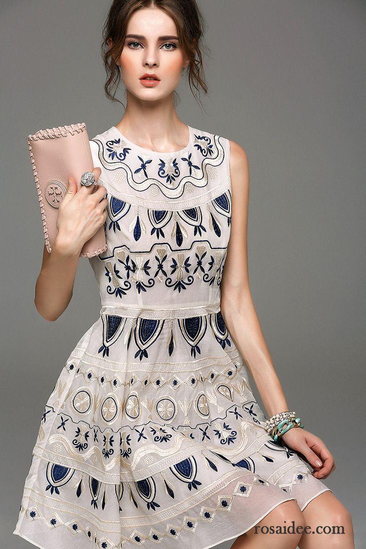 Schöne Groß Stickerei Damen Kaufen Kleider Kleidung Sommer Neue Trend oCBdrxe