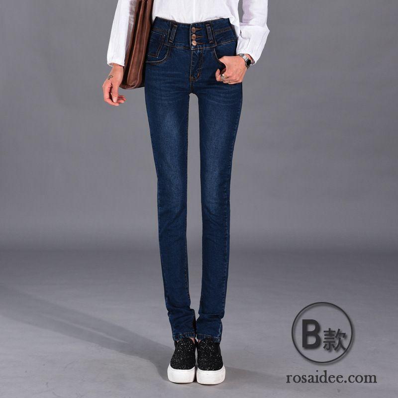 schwarze jeans skinny d nn hose elastisch neu jeans hohe. Black Bedroom Furniture Sets. Home Design Ideas