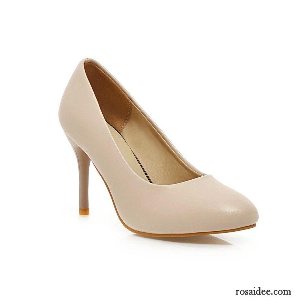 Silberne Absatzschuhe Schuhe Damen Neue Hochhackigen