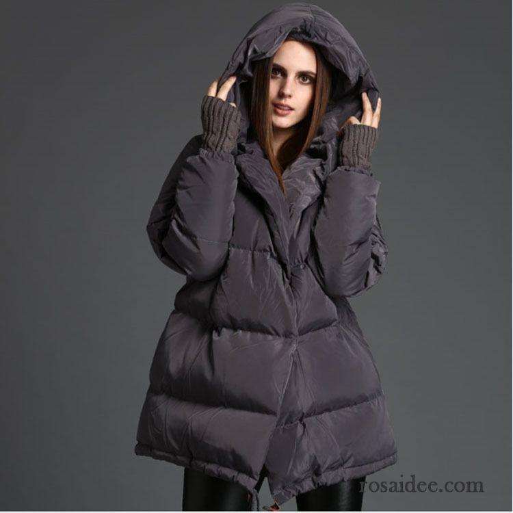 online retailer a6ee8 5fe8f Sommerdaunen Jacke Mit Kapuze Damen Verdickung Winter ...