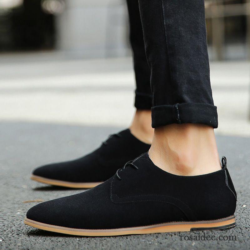 e8e4d618859892 Weisse Herren Schuhe Geschäft Trend England Lederschue Gefrostet Spitze  Schuhe Casual Herbst Herren Neue Retro