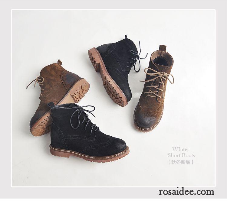 e70131c46e0156 Außergewöhnliche Schuhe Schnürung Martin Stiehlt Damen Flache ...