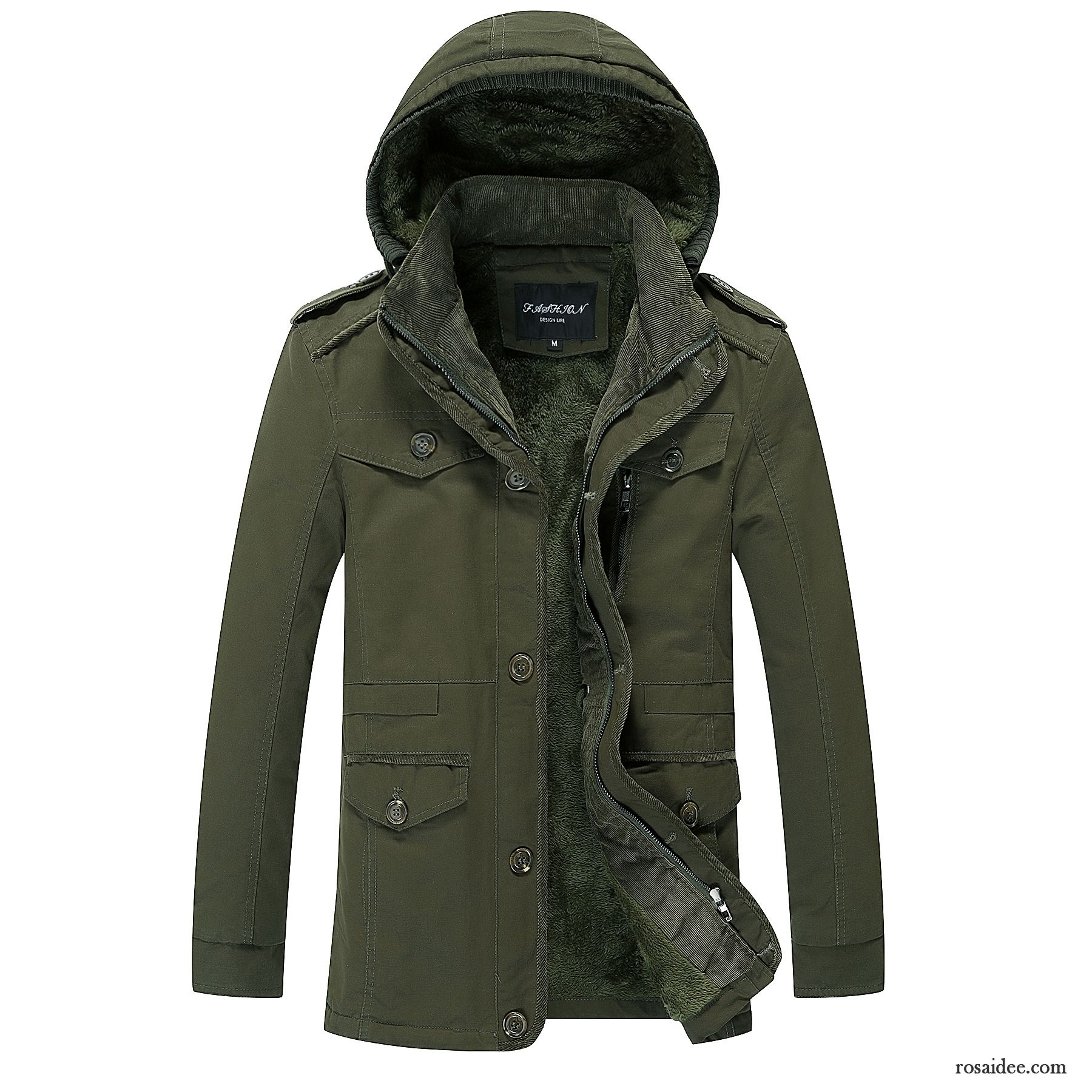 new products 56c92 26bc7 Ärmellose Weste Herren Winter Freizeit Plus Samt Jacke ...