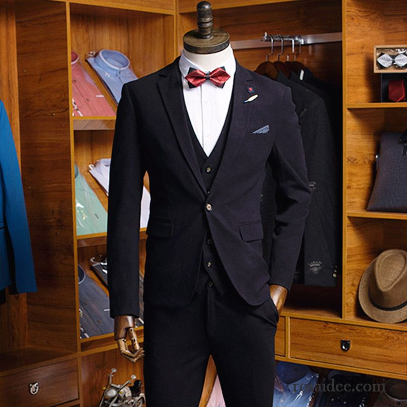 anzughose schwarz herren kost m schlank herren anz g. Black Bedroom Furniture Sets. Home Design Ideas