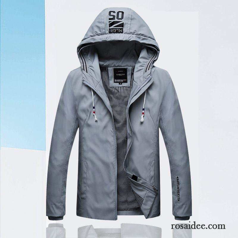 super popular 0f576 096d4 Blauer Jacken Herren Neu Herbst Jacke Mit Kapuze Trend ...