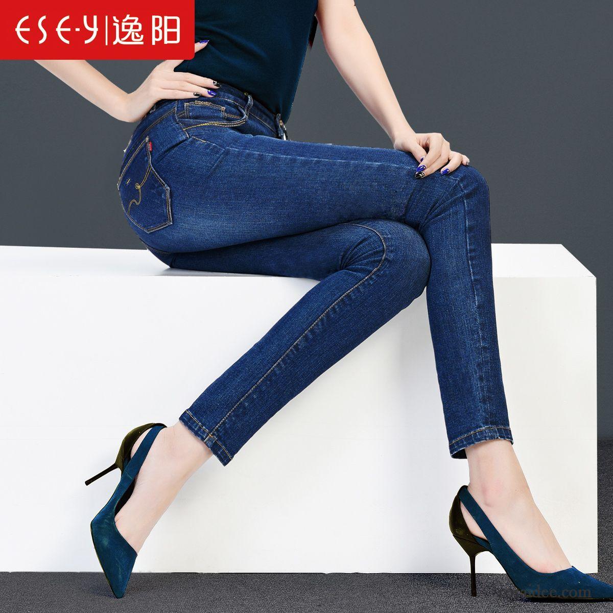 Verkauf Einzelhändler e730c 2f0ba Bootcut Jeans Schwarz Damen Herbst Große Größe Damen Hose ...