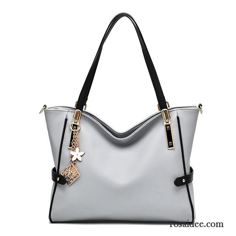 a9fef6758e93c Damen Leder Umhängetasche Messenger-tasche Taschen Großes Paket Handtaschen  Mode Das Neue Hohe Kapazität Trend Günstig