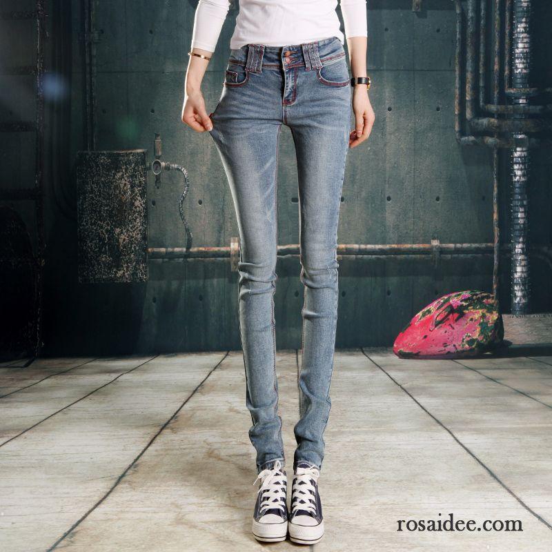 blaue skinny jeans damen super jeans in dieser saison. Black Bedroom Furniture Sets. Home Design Ideas
