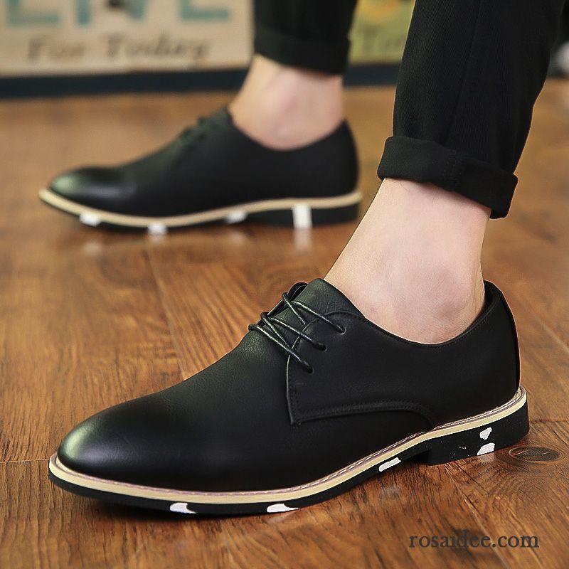 Beste günstigen preis genießen Fabrik Herrenschuhe Schwarz Weiß Leder Schnürschuh Schuhe Herren ...