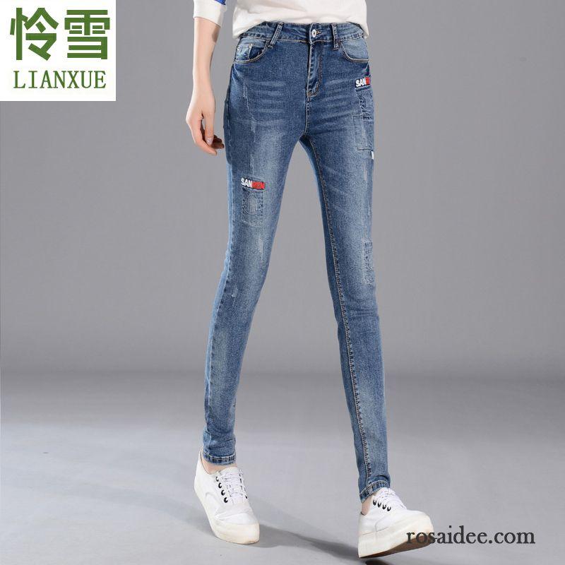 the latest b261b b791e Jeans Online Kaufen Günstig Jeans Bleistift Hose Stickerei ...