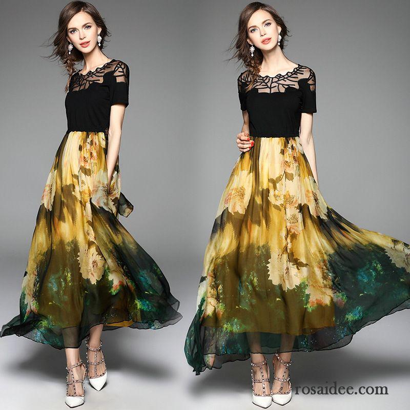 Kleid dunkelblau sommer