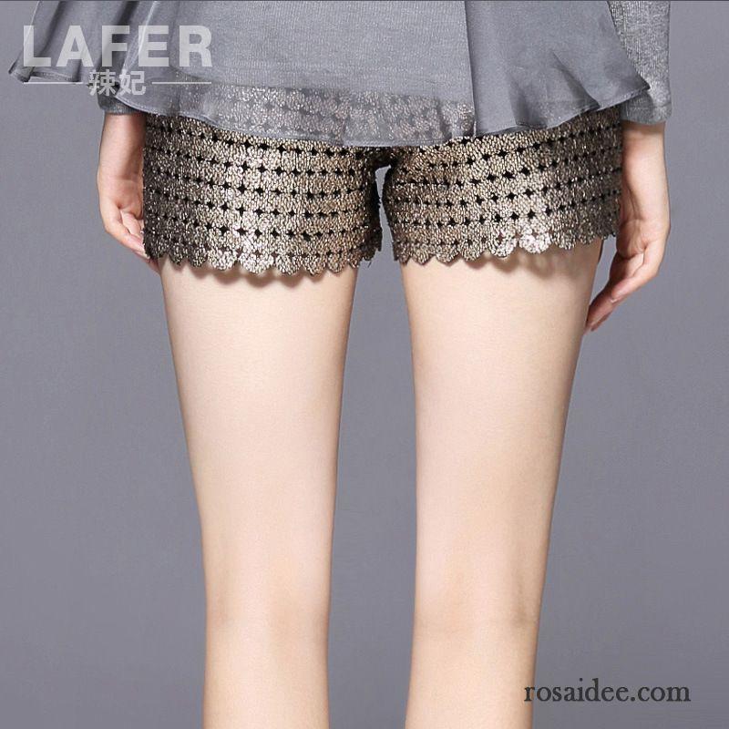 kurze sommerhosen damen allgleiches damen neu kurze hose sicherheitshose golden leggings unter. Black Bedroom Furniture Sets. Home Design Ideas