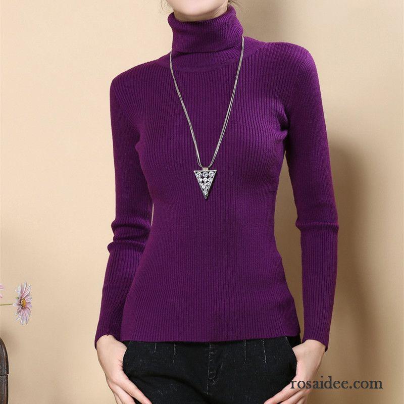 lange strickpullover damen fest wollpullover unteres hemd. Black Bedroom Furniture Sets. Home Design Ideas