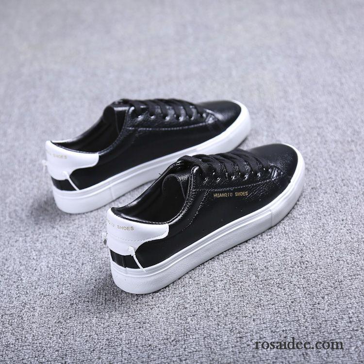 Mode Schuhe Gold Damen Skaterschuhe Damen Flache Schuler Weiss Neue