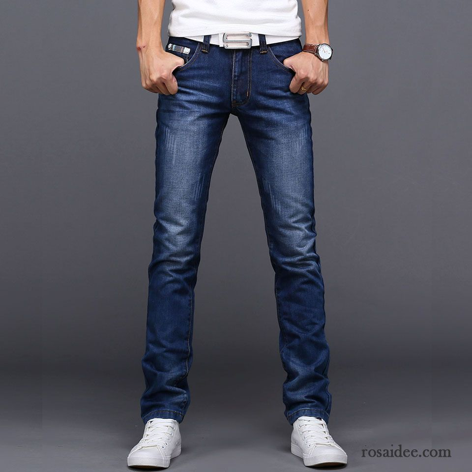 modische jeans herren jeans freizeit herren gerade mode kaufen. Black Bedroom Furniture Sets. Home Design Ideas