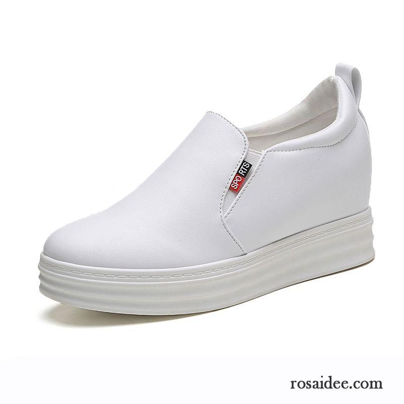 Schuhe Marken Damen Flache Schuhe Casual Dicke Sohle