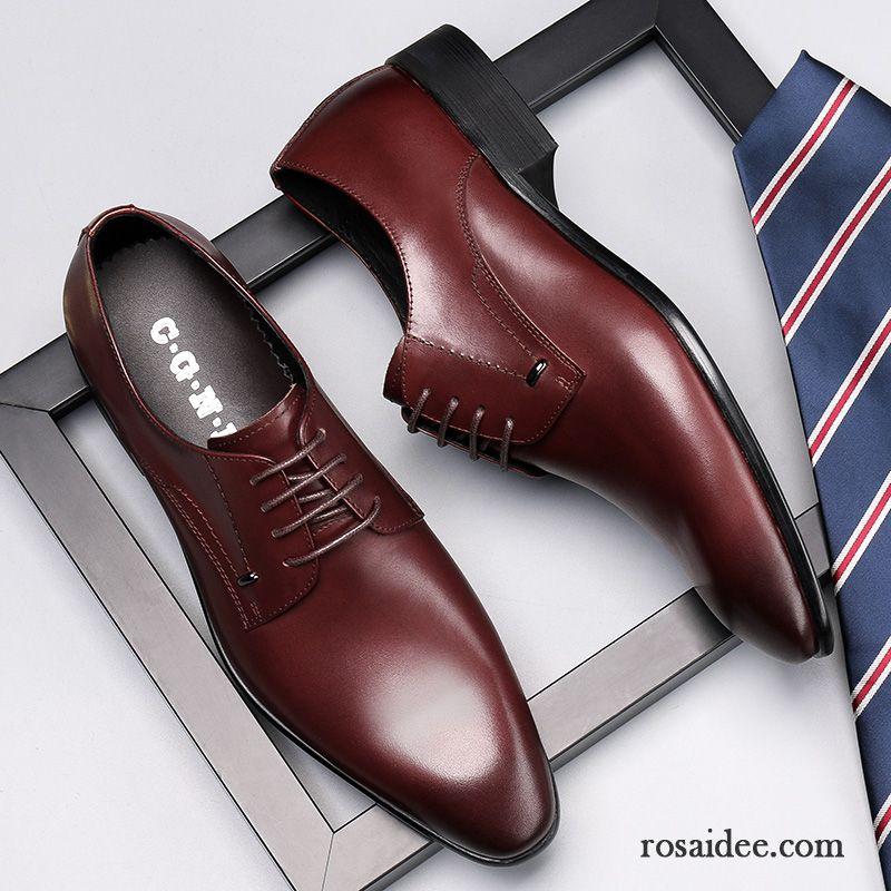 d9b12268e56bae Schuhe Online Kaufen Günstig Schuhe Geschäft England Lederschue Hochzeit  Schuhe Feder Rot Schnürung Trend Atmungsaktiv Herren ...