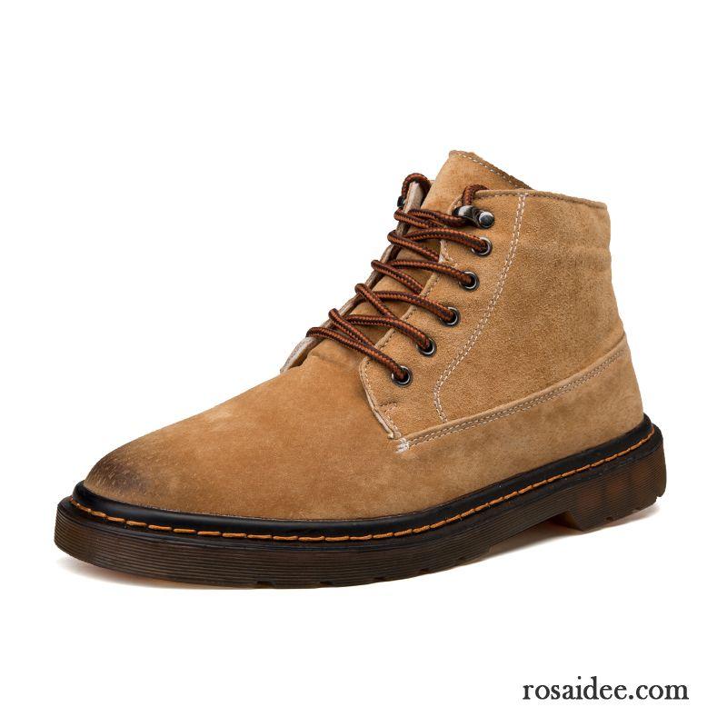 best website df433 9d27d Schuhe Online Männer Casual Hohe Kurze Stiefel Arbeitsschuhe ...