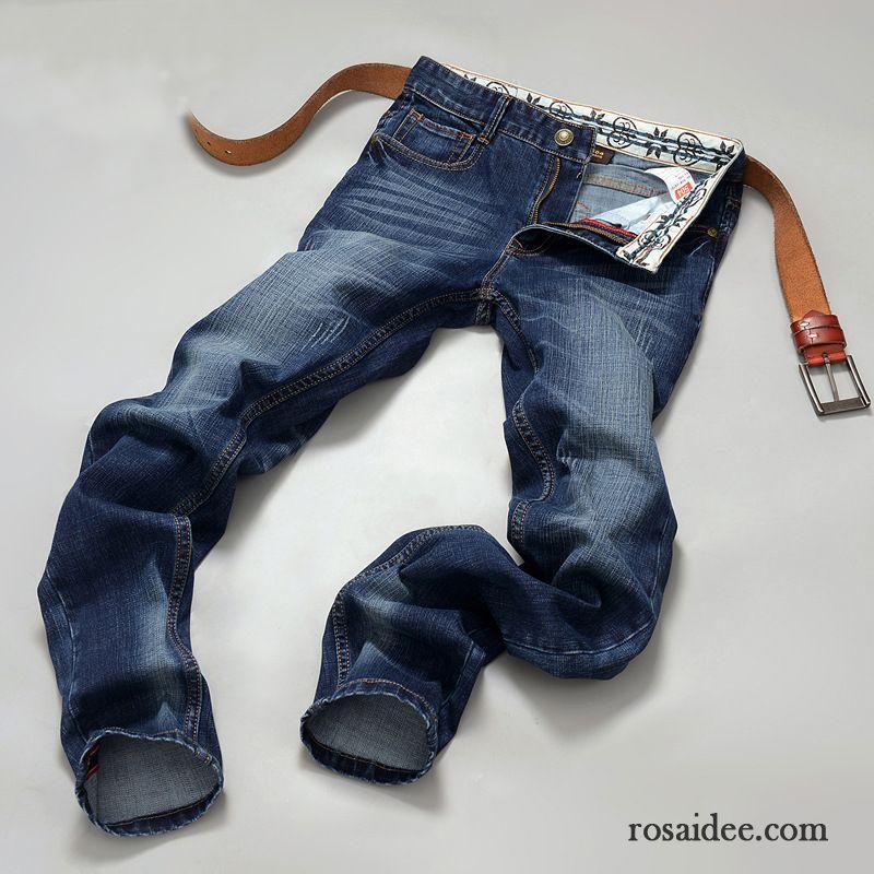 g nstige jeans hosen herren herbst freizeit schwarz herren jeans schlank hose trend neu kaufen. Black Bedroom Furniture Sets. Home Design Ideas