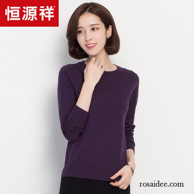 low cost 01086 580d0 Sweatshirt Mit Kragen Damen Neu Rein Winter Damen Pullover ...