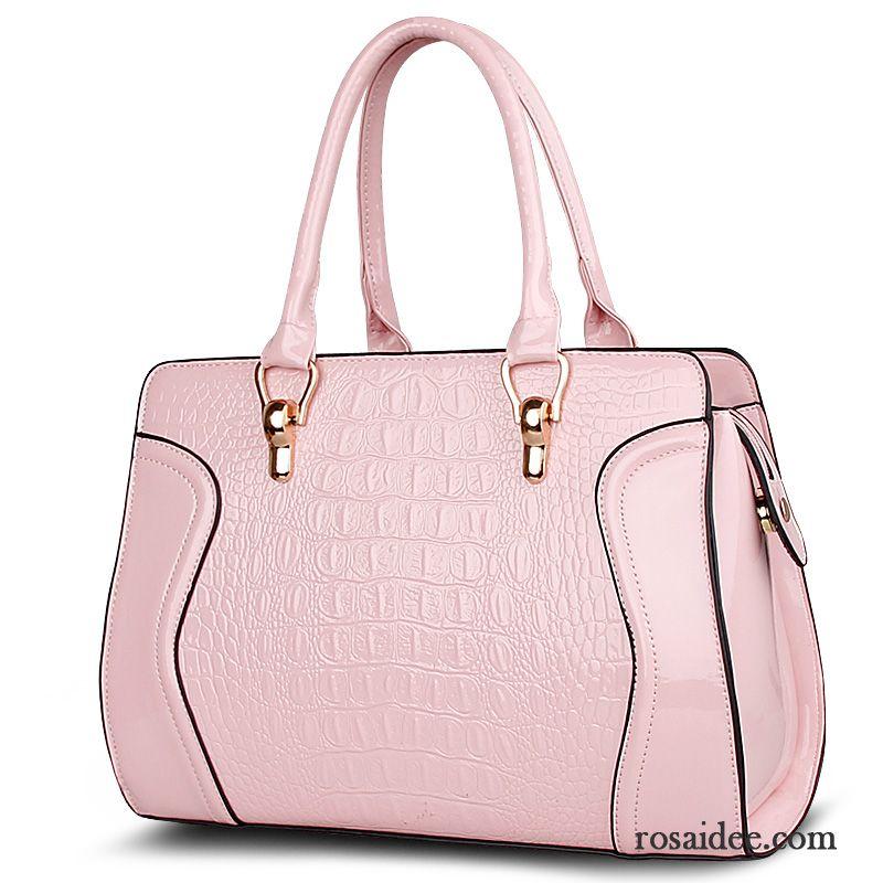 436025aeabc75 Umhängetasche Leder Damen Messenger-tasche Mode Krokodil-muster Handtaschen  Das Neue Verkaufen
