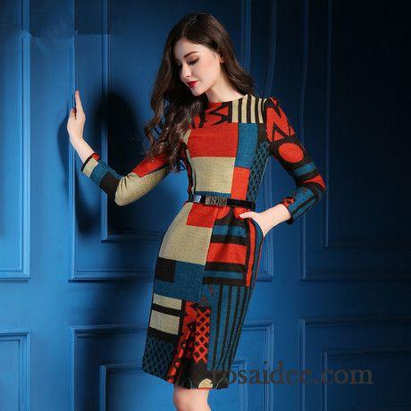 quality design ad5fc ca670 Weißes Kurzes Kleid Printkeid Schlank Temperament Damen ...