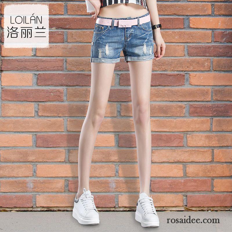 Weisse Damen Hose Ultra Sommer Schlank Damen Dünn Trend