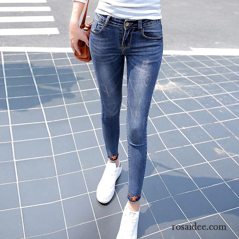 zerrissene boyfriend jeans damen jeans herbst schmales. Black Bedroom Furniture Sets. Home Design Ideas